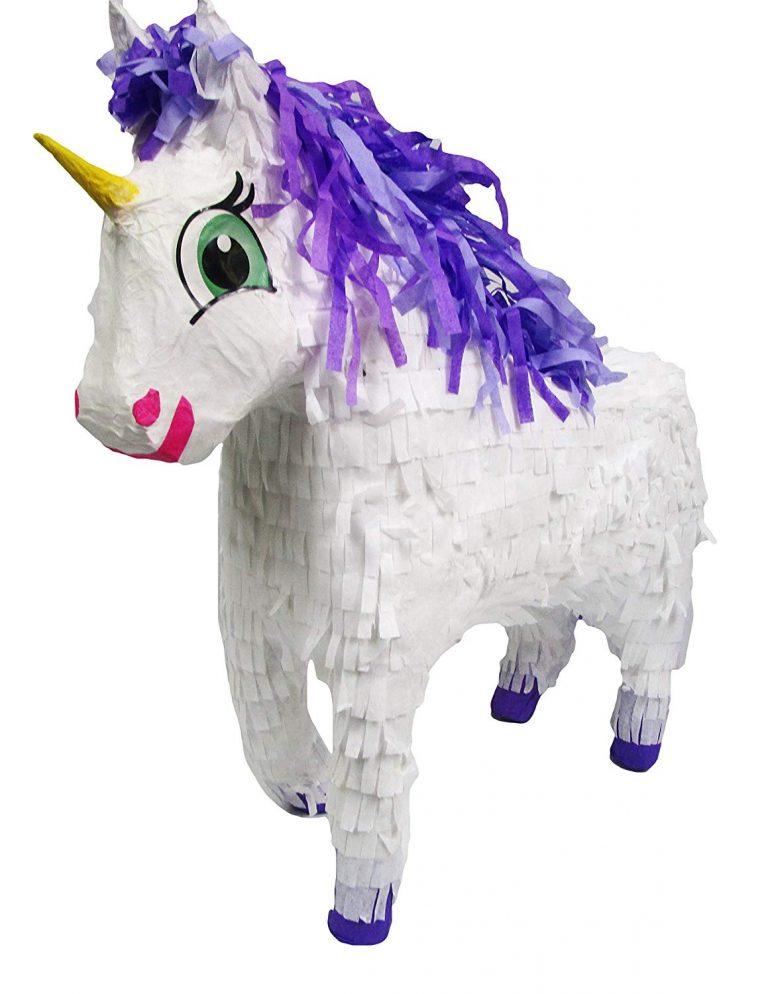 piñata-unicornio-azul