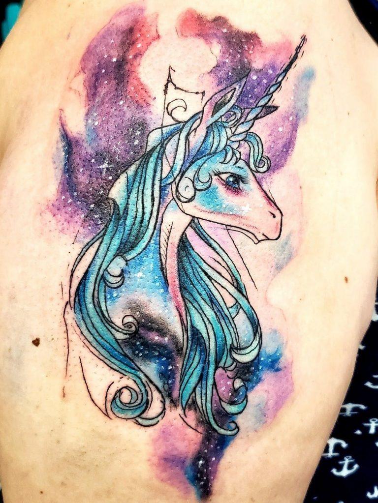 tatuaje-unicornio-estelar