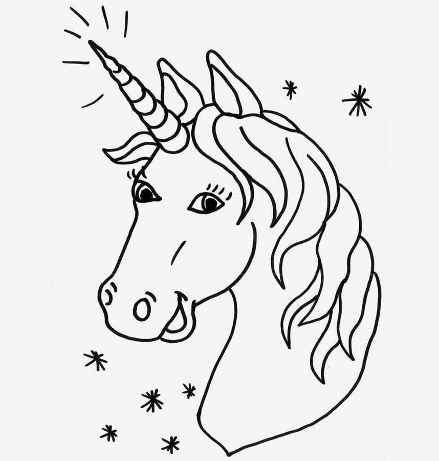 Unicornio Para Colorear Hemos Reunido Una Selección De Dibujos