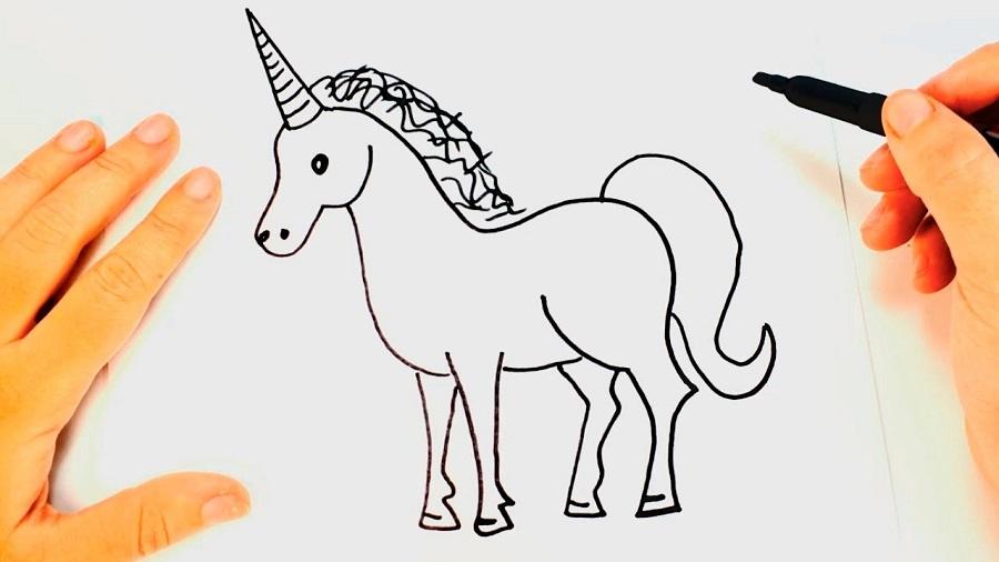 dibujo-unicornio